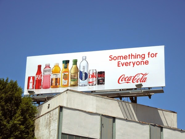 Coca-Cola Something for everyone billboard