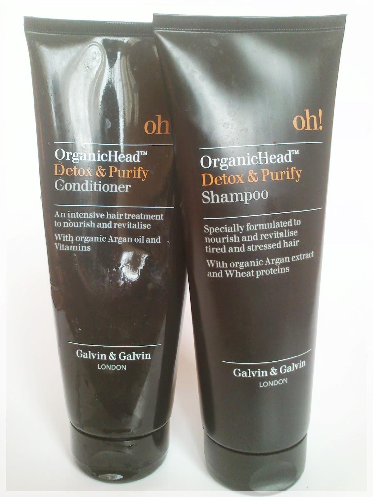 OH! OrganicHead Detox & Purify ( szampon + odżywka )