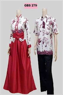 Gamis Batik Kombinasi Bolero Terbaru