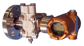 Flange mount differential pressure transmitter for liquid level measurement