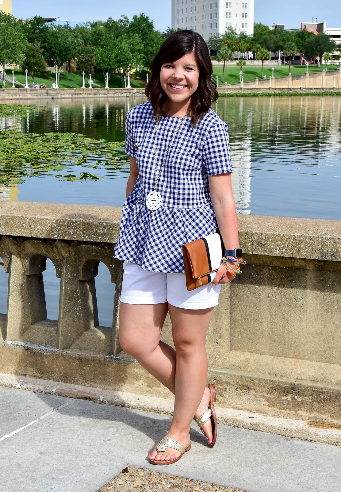 All the Girly Details: Gingham + Bows