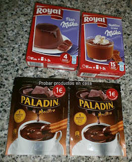 Disfrutabox Paladin y Royal Milka