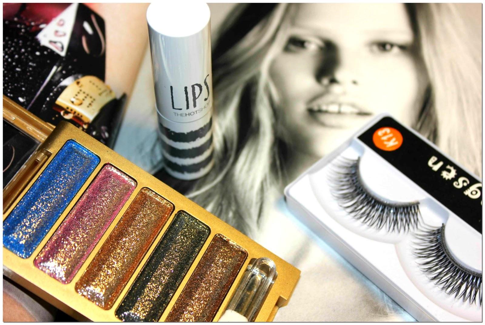 Отзыв: Бюджетно. «Антикризисный» макияж с шиммерной палеткой теней и накладными ресницами из интернет-магазина BornPrettyStore.