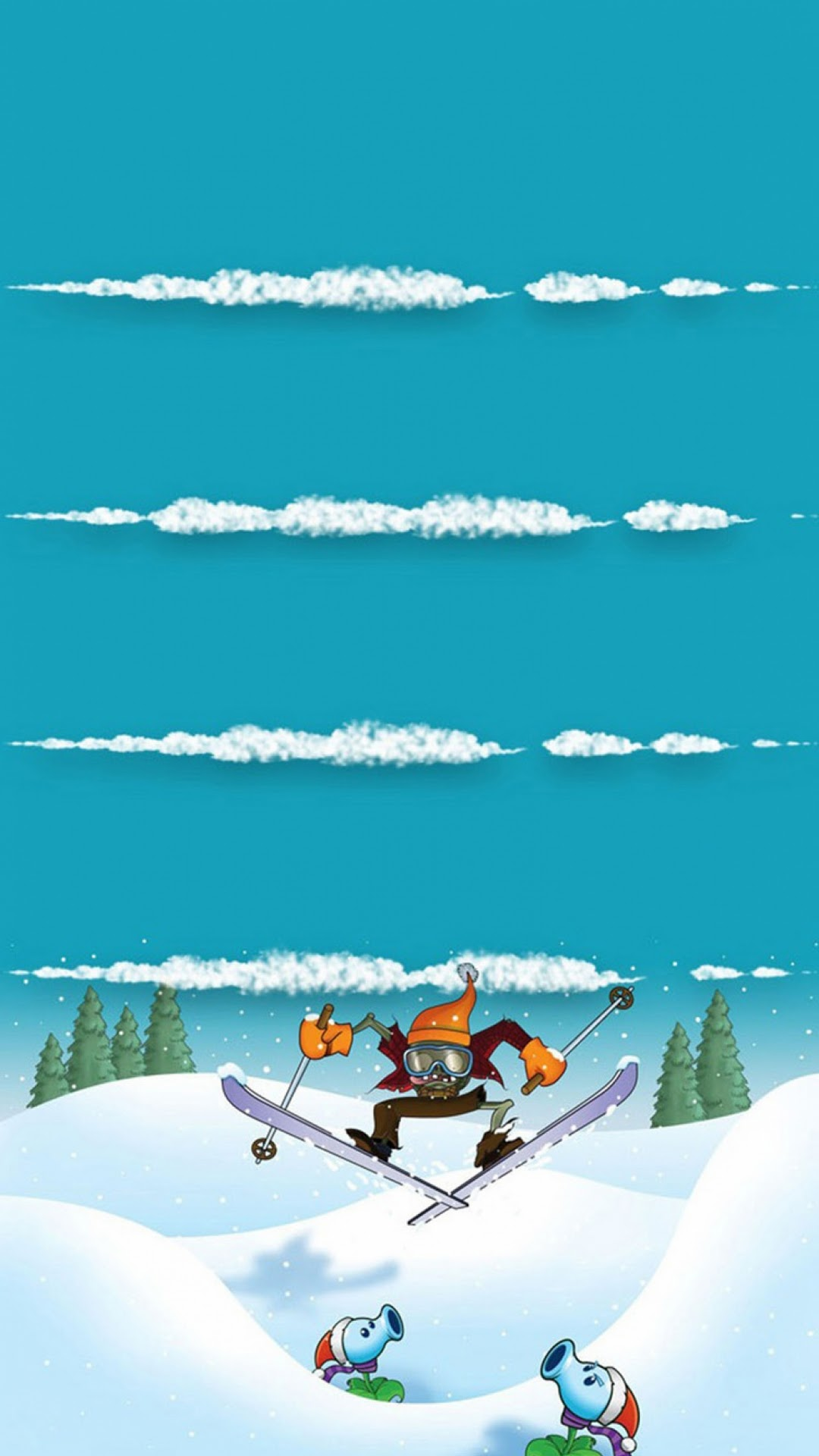 Good   Wallpaper Home Screen Winter - winter-sports-plants-vs-zombies-homescreen-android-best-wallpaper  Collection_957618.jpg
