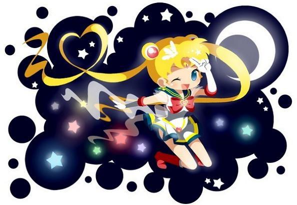 Sailor Moon Cute Sailor Moon