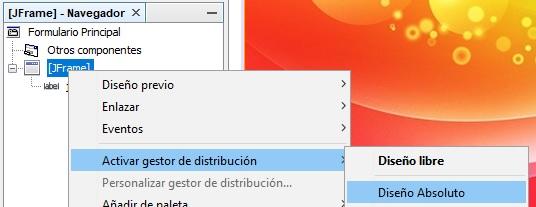 Activar getor de distribución en Java Netbeans
