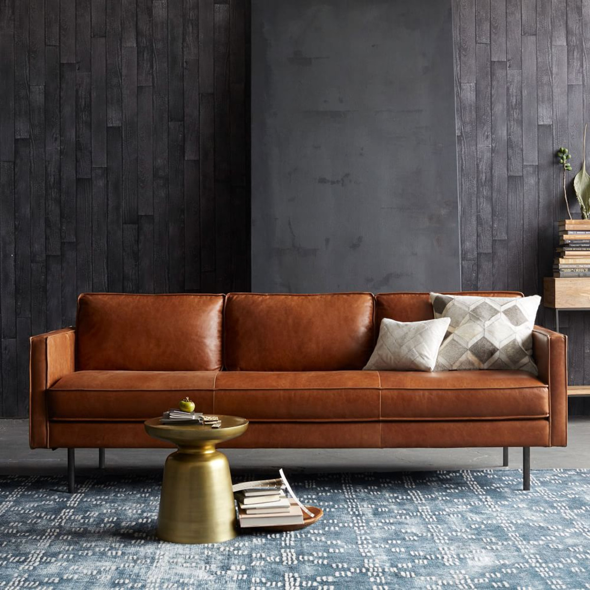 6 of the best...tan leather sofas on the high street ...