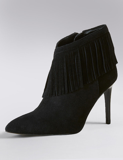 6d7b09f531a71 Suede Trim Ankle Boots with Insolia - £69