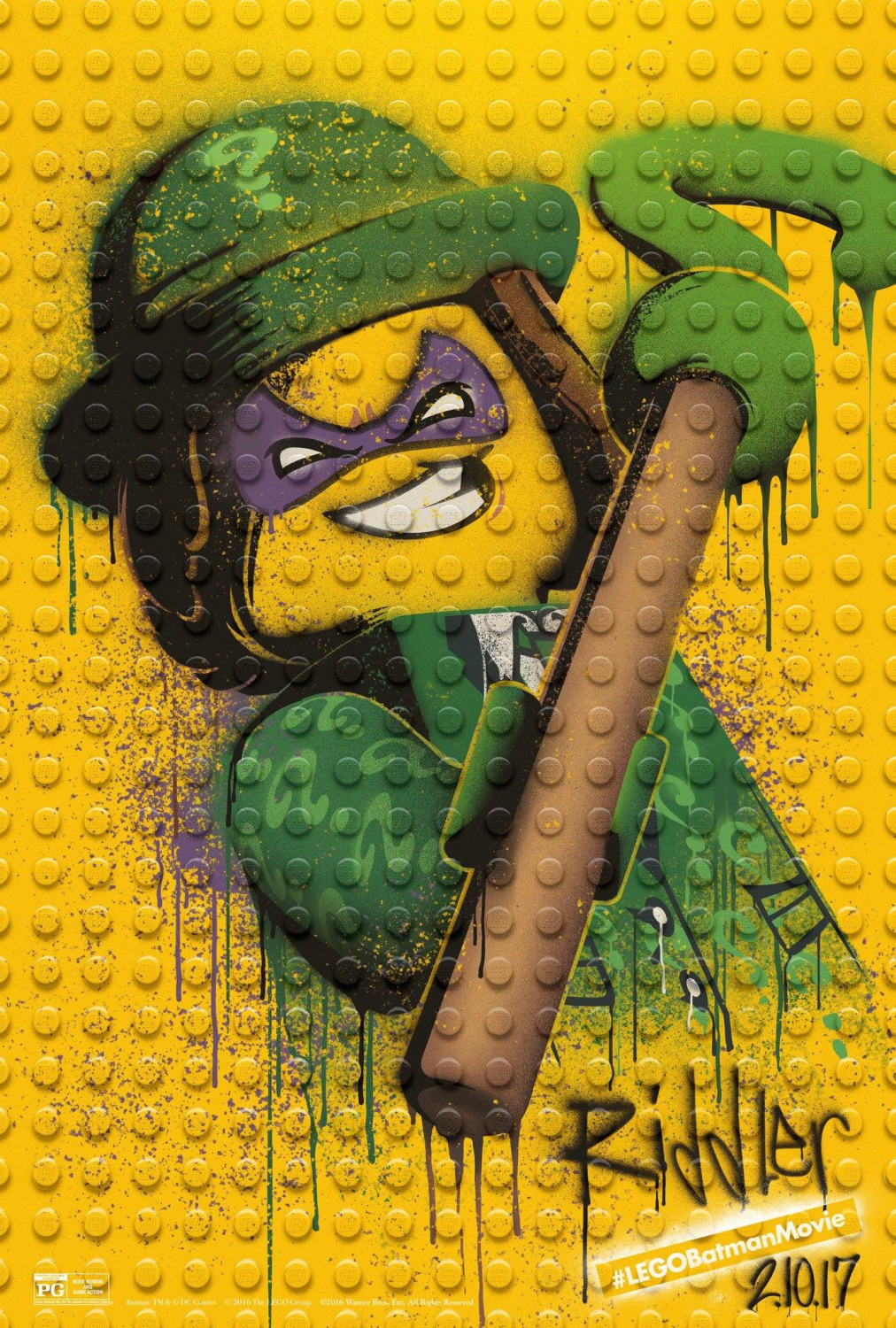 The Blot Says The Lego Batman Movie Graffiti Character Movie