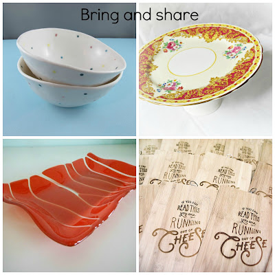 image bring and share domum vindemia upcycled cake stand ceramic bowl handmade fused glass platter laser engraved bread board