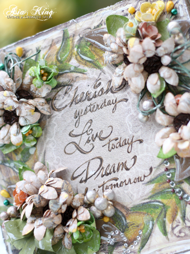 cherish yesterday, live today, dream for tomorrow Stampendous