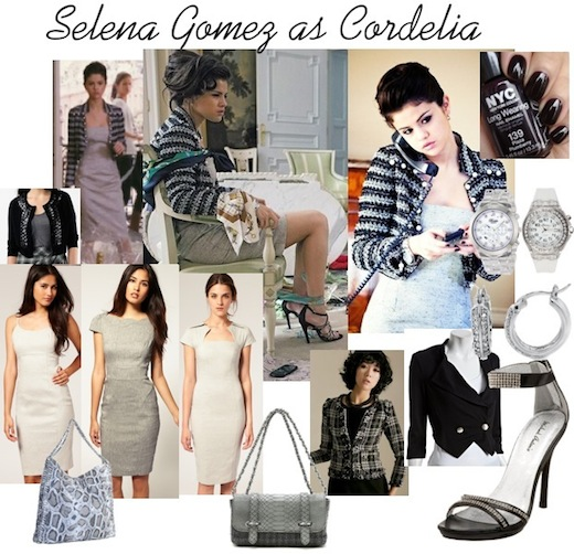 Dress Me 4 Less: Selena Gomez as Cordelia in Monte Carlo