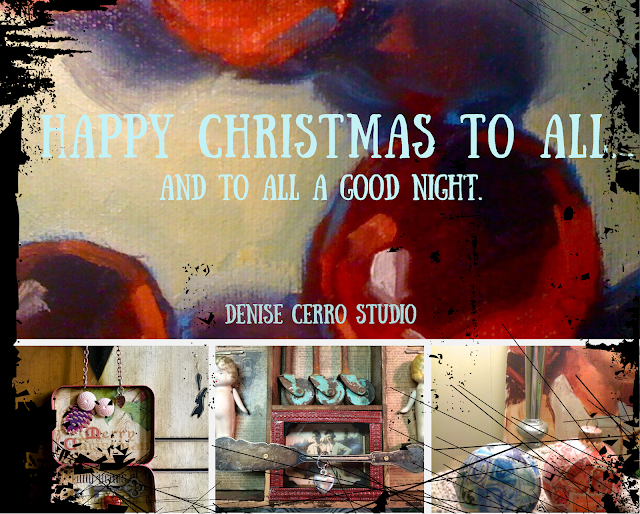 photo collage with Christmas message