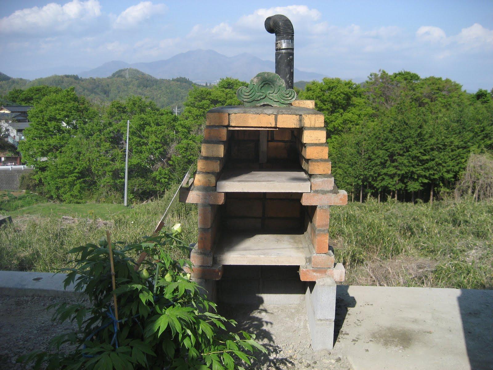 STIHL SHOP: ピザ窯作り