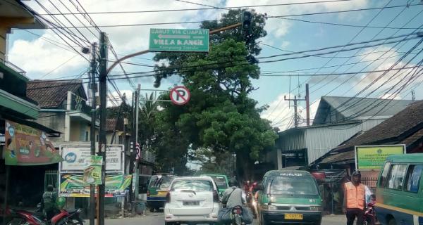 Petunjuk jalan ke villa kancil kampoeng soenda
