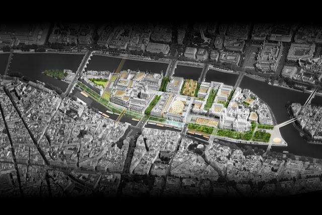 île de la Cité (projet Dominique Perrault)
