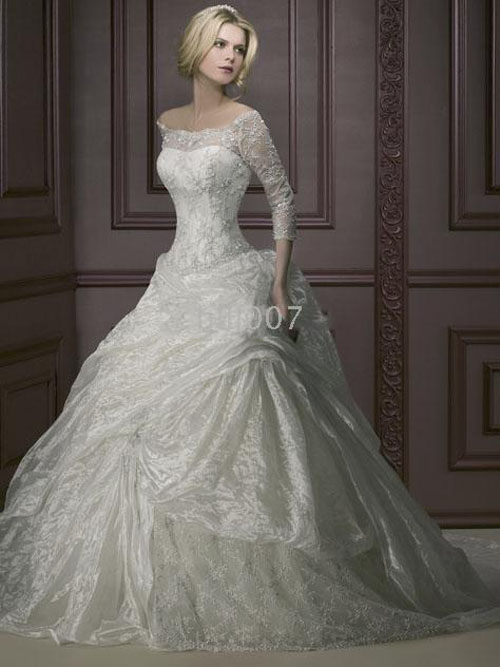 Russian White And Blue Wedding Dress Designs Wedding Dress