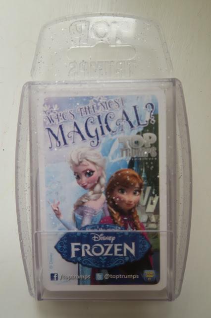 Disney Frozen Top trumps