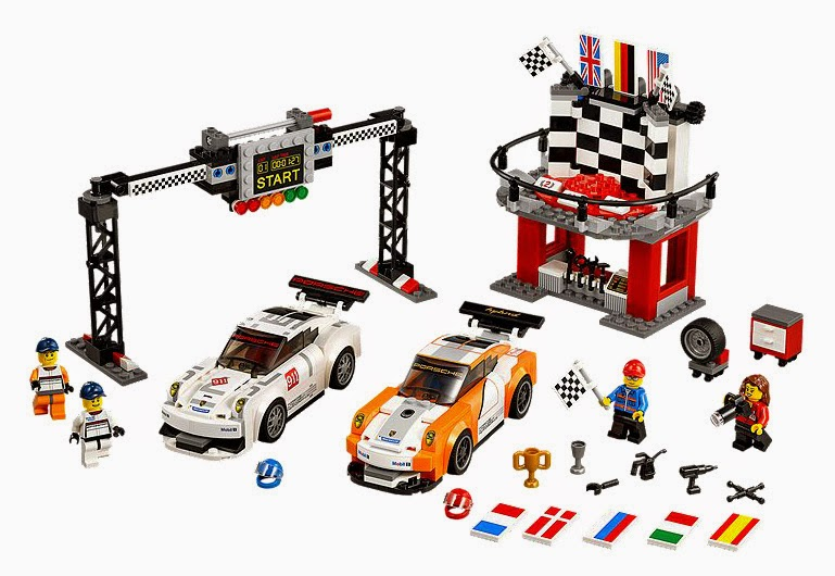 Speed Champions Porsche 91 GT Finish Line set