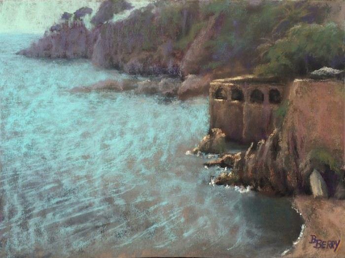 Пастельная живопись. Barbara Berry