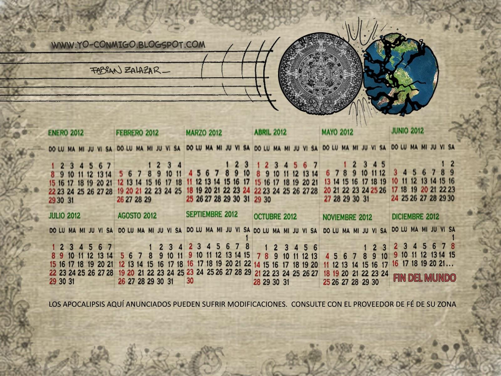 Calendario 1960.Almanaque Calendarios