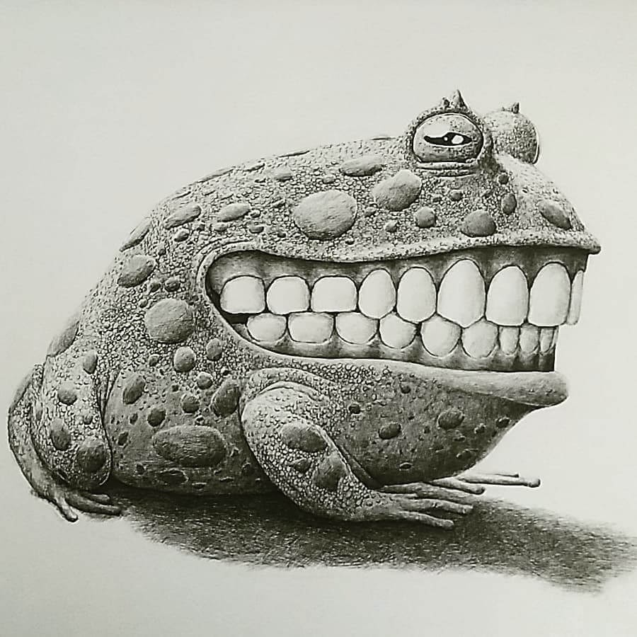 12-The-frog-Redmer-Hoekstra-Surrealism-www-designstack-co