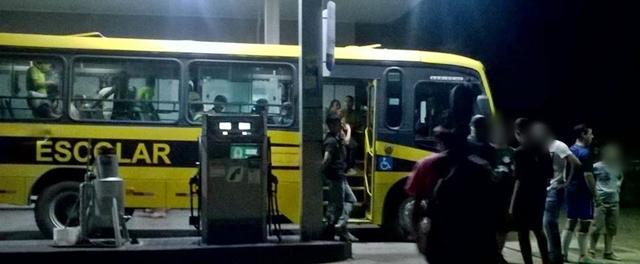Mato Rico: Posto de gasolina acaba de ser assaltado
