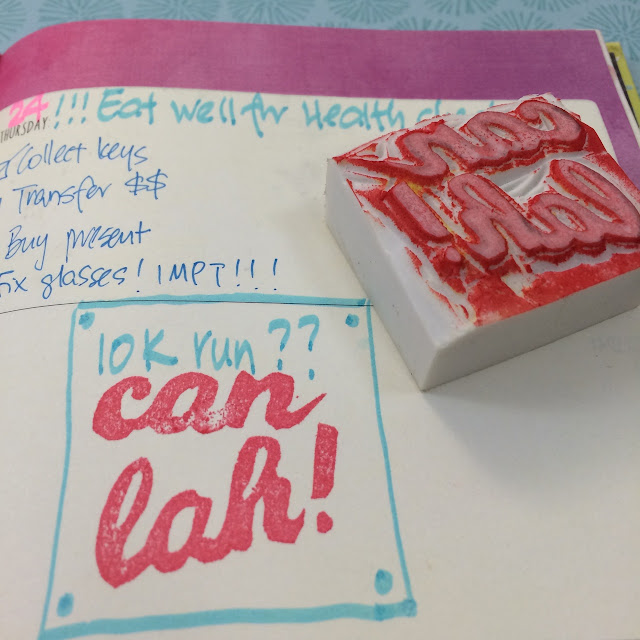 Handmade Rubber Stamps, Singlish Inspired