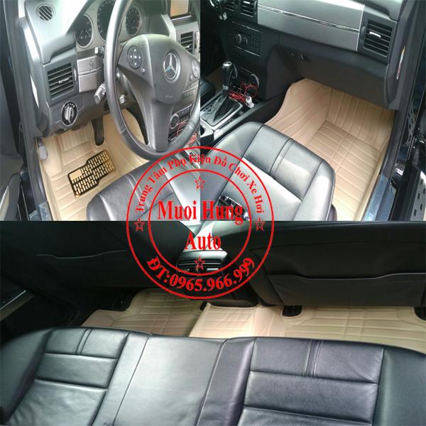 Thảm Lót Sàn Ô Tô 4D Mercedes Glk 01