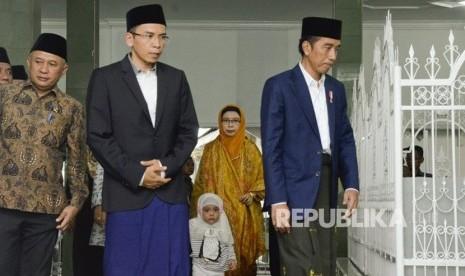 TGB Dukung Jokowi, GNPF: Dia tak Bersama Kami Lagi
