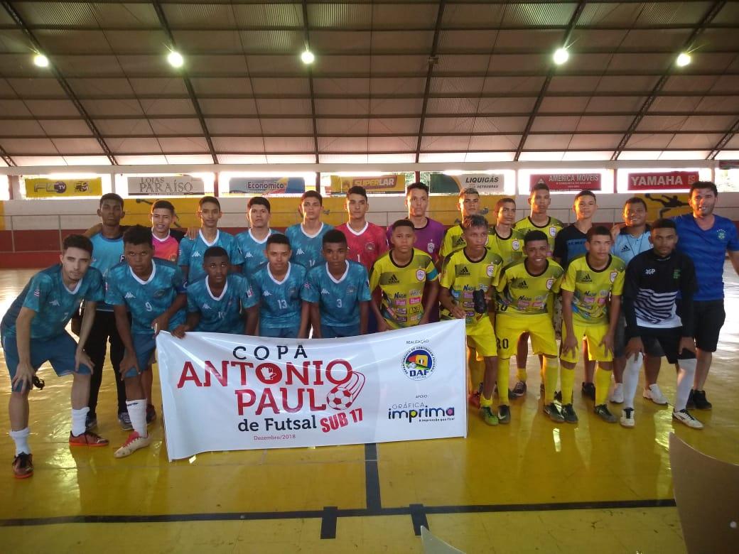 Ajax1 é o Campeão da Copa Antonio Paulo de Futsal Sub 17 Masculina 2018 f398745c76340