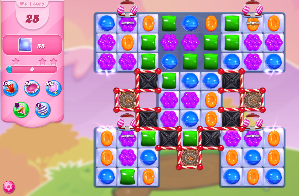 Candy Crush Saga level 5079