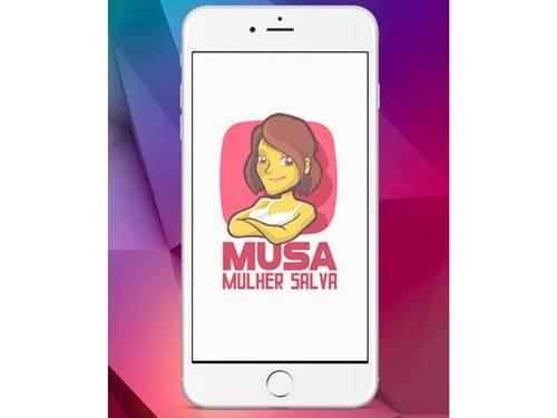 O aplicativo MUSA (Mulher Salva) permite denunciar violência contra mulheres em tempo real