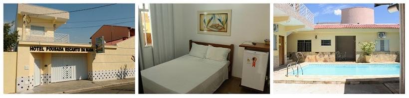 Onde ficar em Aparecida - Hotel Pousada Recanto da Madá