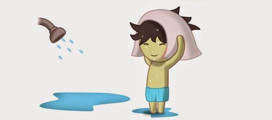 Lafadz Bacaan niat mandi di hari jumat