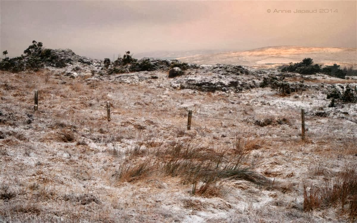 Connemara in the snow © Annie Japaud Photography, snow, mountains, Connemara, Ireland, nature, Photography
