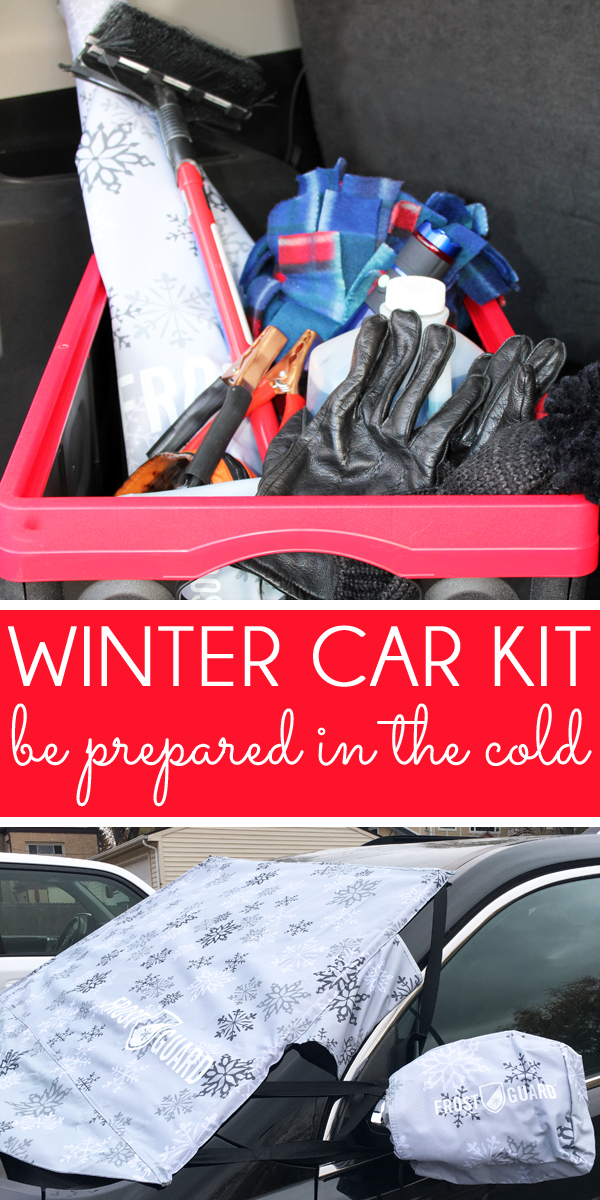 Organized Winter Car Kit - Winter Emergency Car Kit