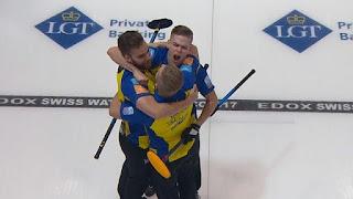CURLING - Campeonato de Europa masculino 2017 (St Gallen, Suiza): Suecia es tricampeón de Europa de forma seguida