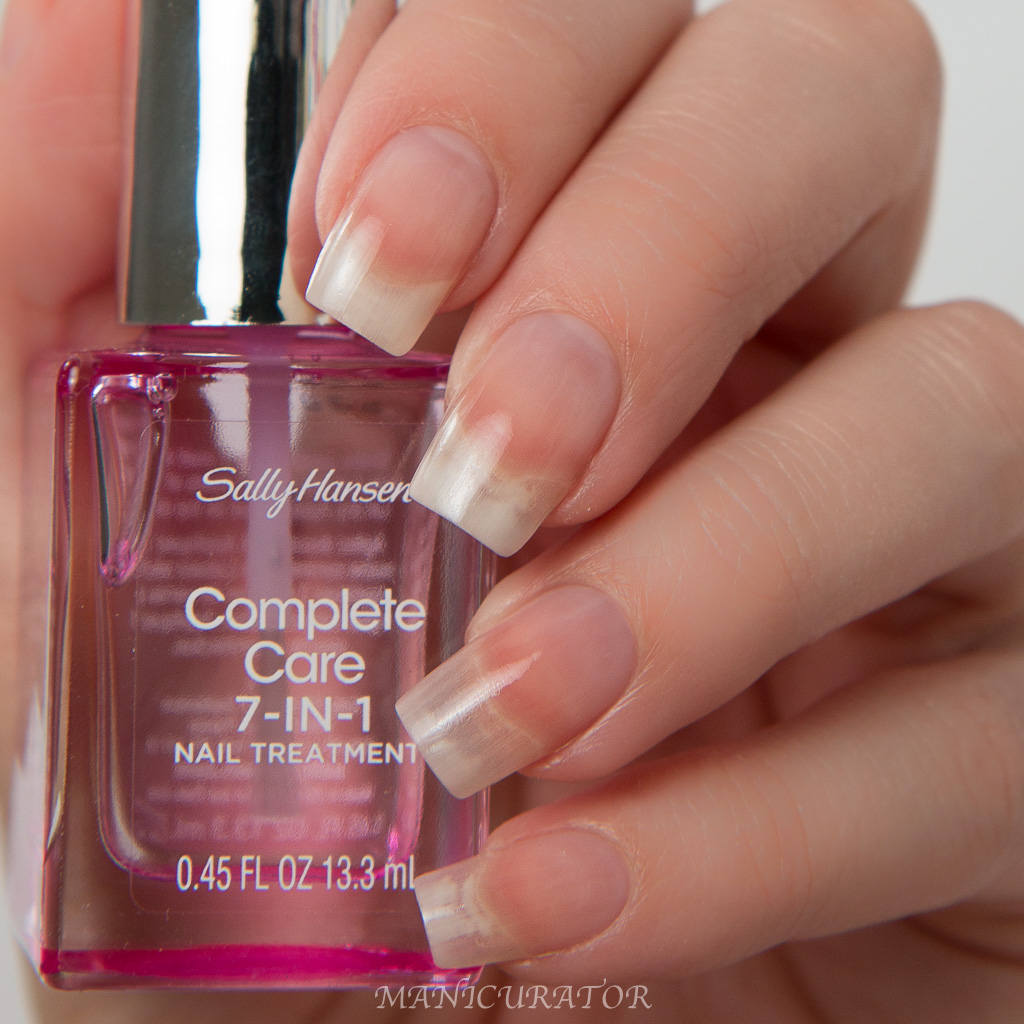 Sally Hansen Complete Care 7-in-1 Treatment Challenge with Miracle ...