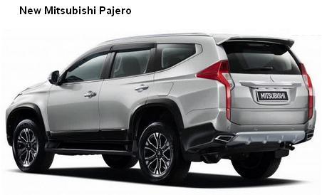 new mitsubishi pajero 2016