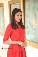 Actress Lavanya Tripathi Latest Pos in Red Dress at Radha Movie Success Meet .COM 0086.JPG