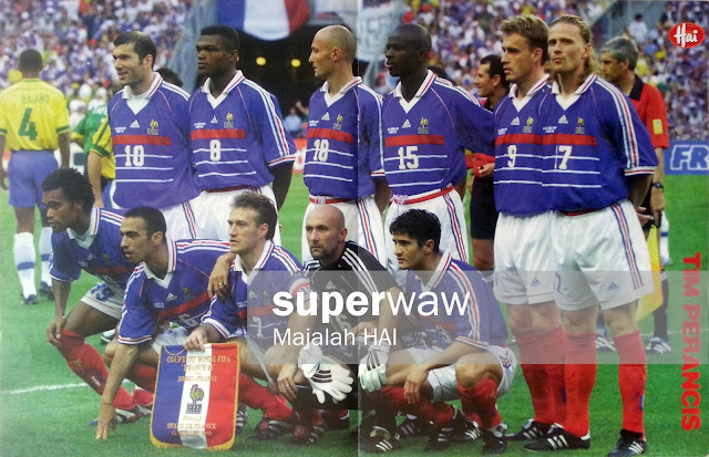 France Soccer Team 98