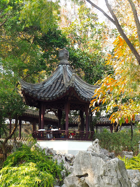 Yuk Tong Pavilion, Kowloon Walled City Park, Hong Kong