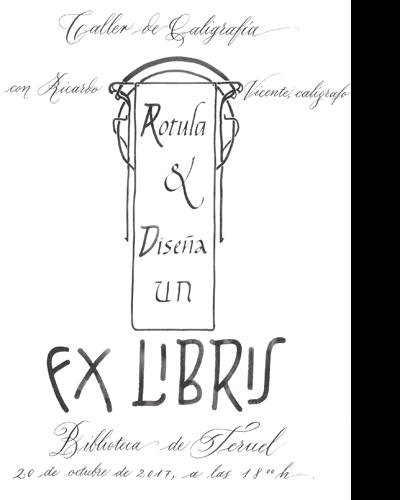 Rotula y diseña un Ex libris