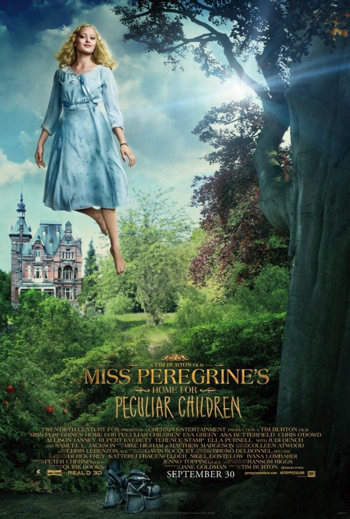 Miss Peregrines Home for Peculiar Children film poster