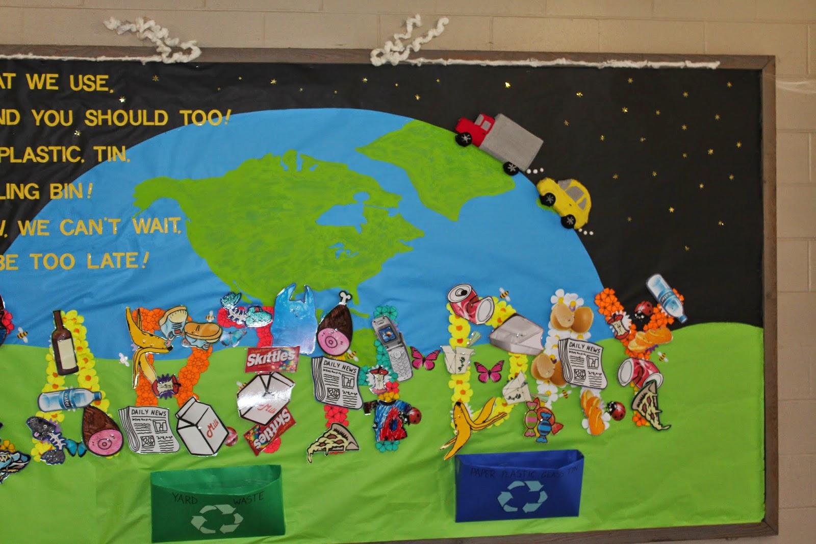 School Bulletin Boards Earth Day Bulletin Board