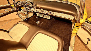 1955 Ford Thunderbird Convertible Dashboard