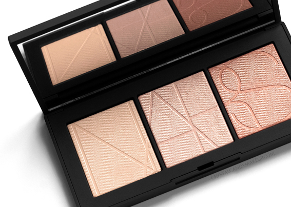 NARS Rêve Salé Cheek Palette Review Highlighting Powders