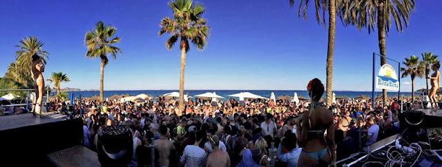 Localização e Horários do Bora Bora Beach Club em Ibiza