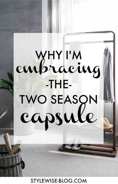 two season capsule wardrobe advice and research on novelty